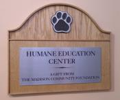 Humane Society Donor Wall